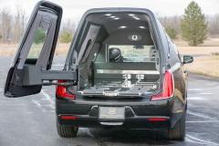 S&S Olympian with 270 degree load door hinge